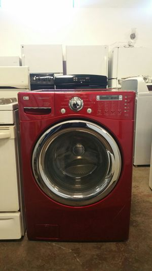LG washer front load- free delivery - 4 months warranty