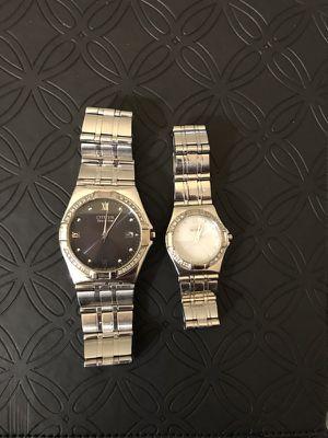 His & Hers Diamond Watches