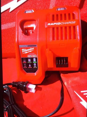 Milwaukee Charge : New Rapid Charge M12 And M18 Cargador Nuevo