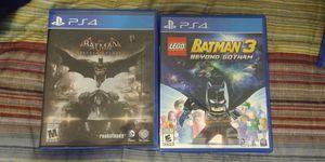 Ps4 Batman game