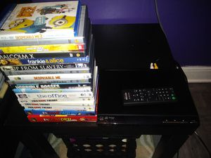 Sony DVD Player With DvDs