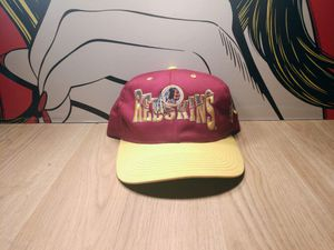 Vintage Washington Redskins Snapback Hat