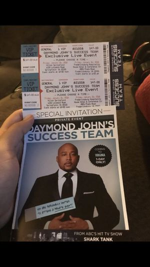 2 VIP Tickets