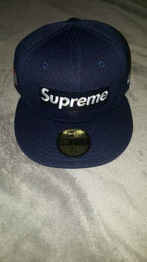 Brand New Supreme Box Logo Mesh New Era Cap