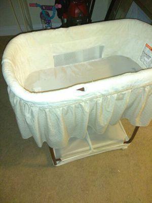 White Baby's bassinet