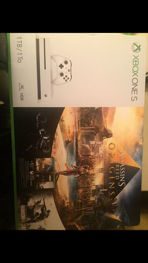 X Box One S 1TB Brand New was only used for one week comes with one controller