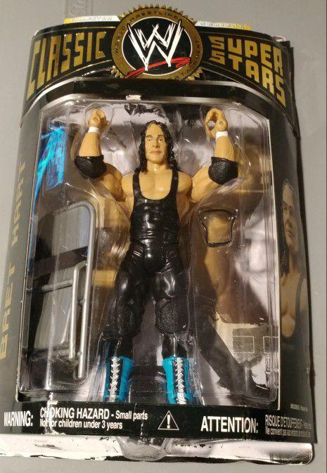 WWE: Bret Hart action figure.