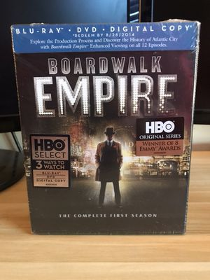 Un-Opened Season 1 Boardwalk Empire