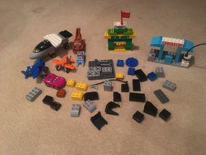 Lego planes and cars brio set