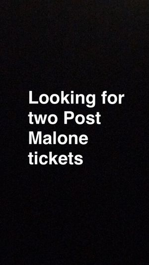 Looking for tickets