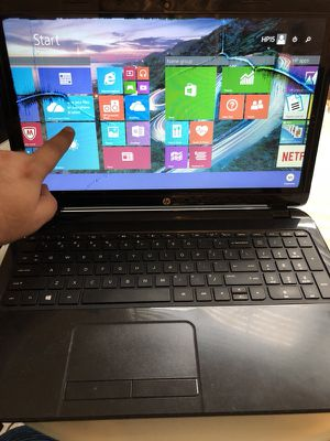 "Hp Touchscreen 15"" 500gb 8ram 2.2ghz Windows"