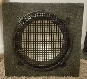 "12""speaker box with amp"