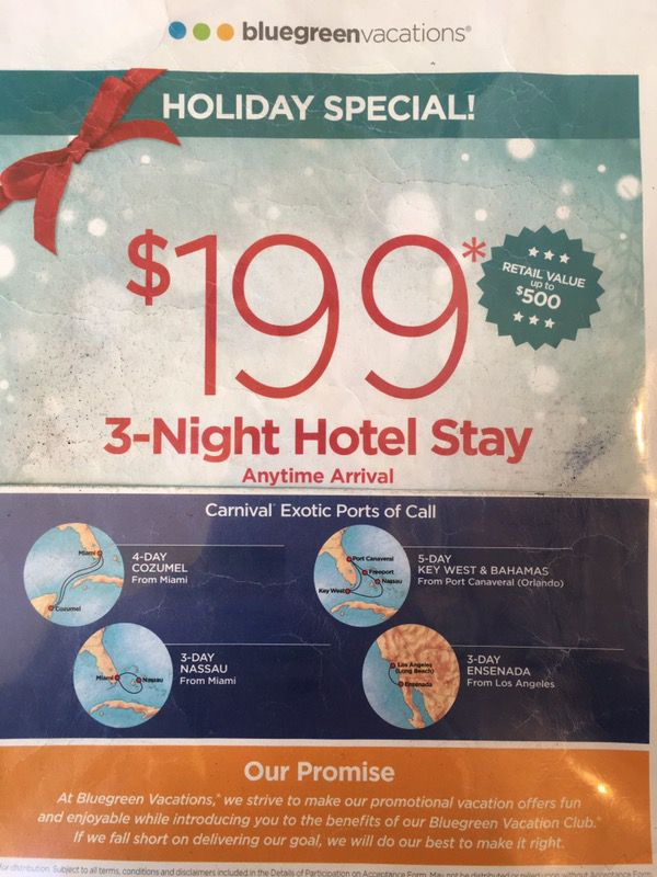 Day Hotel Day Cruise Tickets In Kissimmee FL OfferUp - 3 5 day cruises