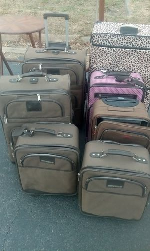 Lot of Suitcases Carry-On