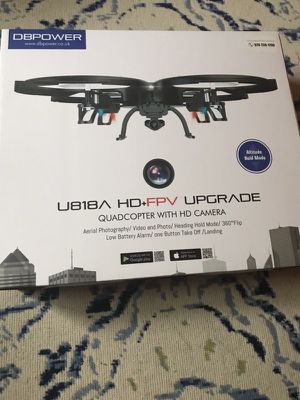 Drone- QUADCOPTER WITH HD CAMERA $100