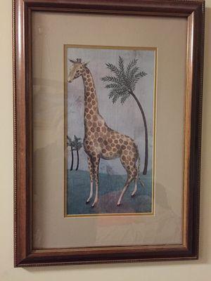 Giraffe picture frame
