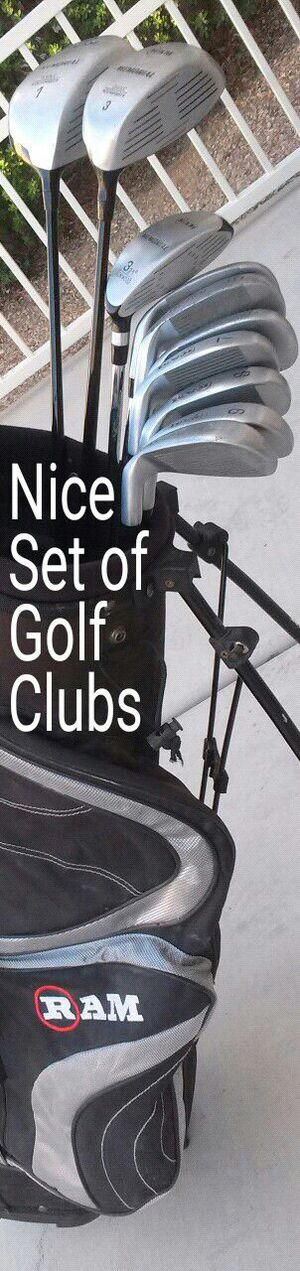 Nice set of Ram golf clubs in excellent condition