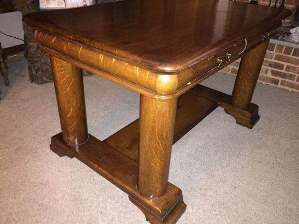 Vintage Antique Library Table. Vintage Antique Library Table  Furniture  in Charlotte  NC   OfferUp