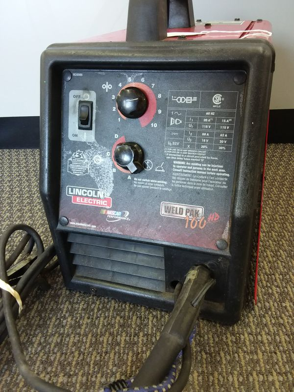 Lincoln Electric Weld Pak 100HD Wire Feed Welder (Tools & Machinery ...