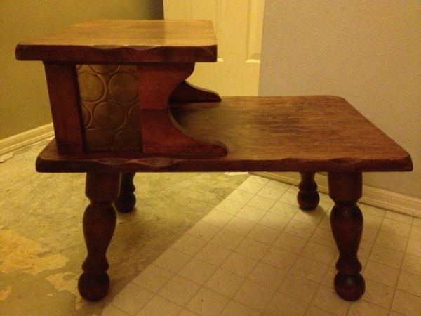 Two tier telephone table furniture in gig harbor wa for Furniture gig harbor