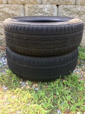 Two 235-65-R17 tires