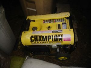 3000 to 3500 rated watts generator