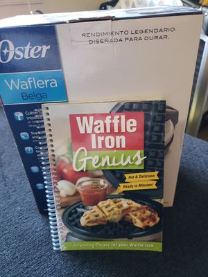 Waffle Maker and Waffle cook book