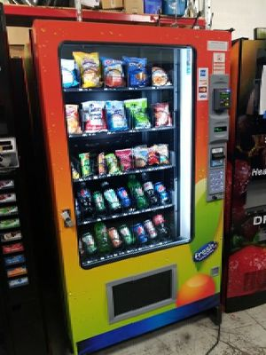 Ams visi combo vending machine fully working