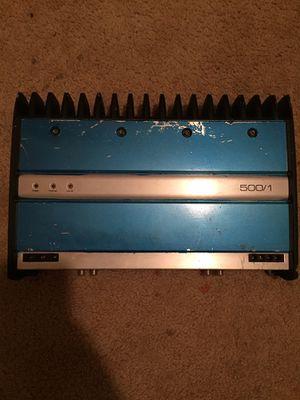 Jl audio w7 12 and jl audio 500/1 amp