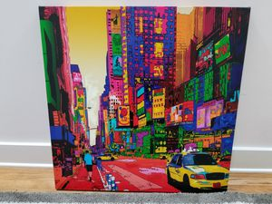 Abstract art canvas - NYC