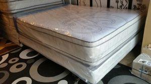 New Full Size Pillowtop Mattress + Box Spring