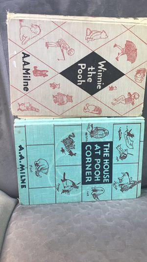 Winnie the Pooh books A.A. Milne for sale  Tulsa, OK