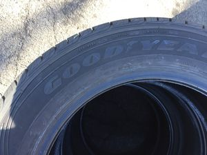 I have a vary Nice 4Pair Goodyear Used Tire 235/60/R17 Total Price 120