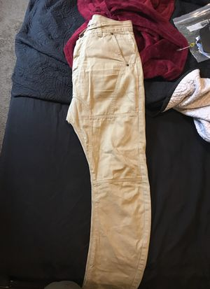 Slim drop crotch khaki pants sz 30