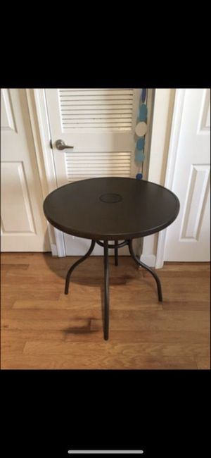 """30"""" ROUND TABLE BISTRO LED"""