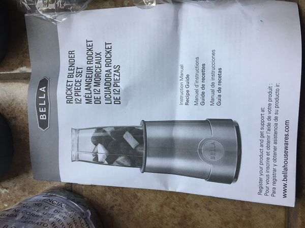 Bella Rocket Blender Household In Folsom Ca