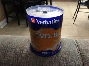 DVD-R brand new package