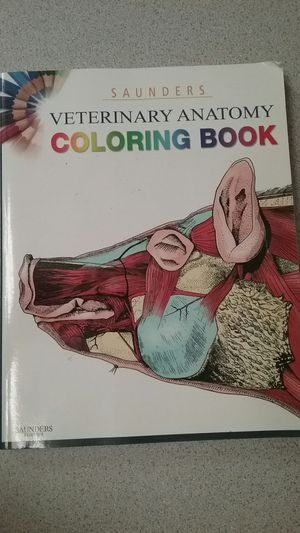 veterinary anatomy text book coloring book - Veterinary Anatomy Coloring Book