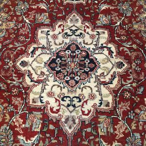 Persian hand woven wool rug