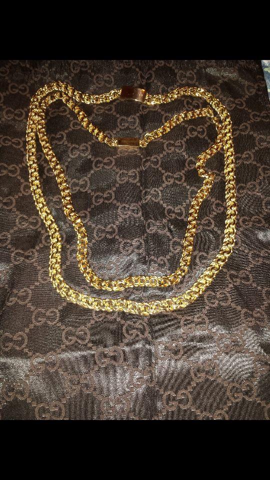 200 Gram Chino Necklace 10kt Gold Jewelry Accessories in Dallas
