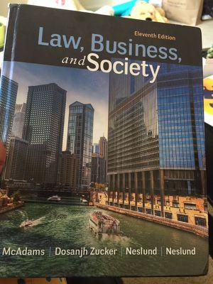 Books Business Law and Organization Behavior