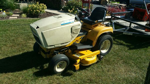 cub cadet 1863 garden tractor farming in aurora il offerup. Black Bedroom Furniture Sets. Home Design Ideas