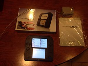 Used 2DS Console with charger and 32gb card