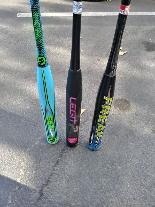 Slowpitch softball bats sports outdoors in manteca ca offerup slowpitch softball bats sciox Gallery