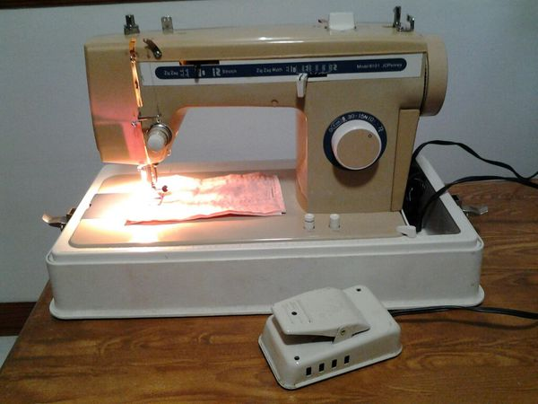 jc penney sewing machine