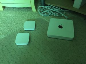 Apple router with two extra wifi spots