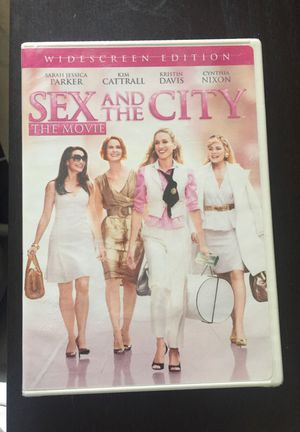 Sex and the City The Movie DVD (Widescreen Edition) never opened