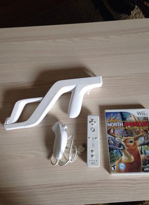 Wii hunting game