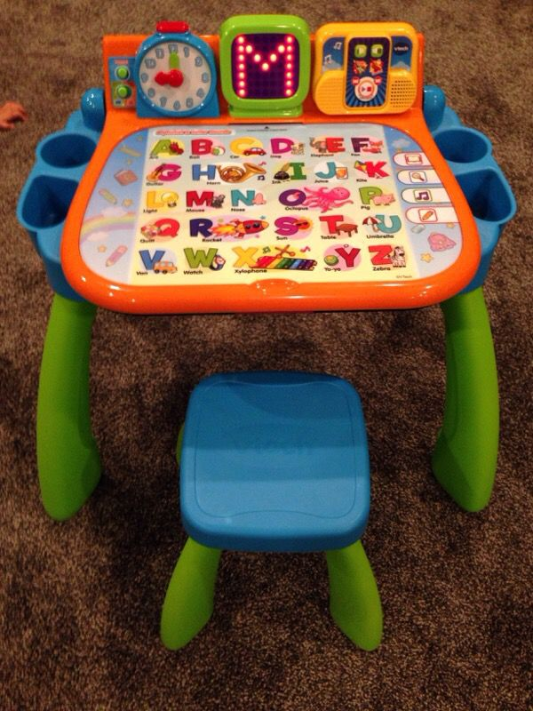 vtech activity table baby kids in everett wa. Black Bedroom Furniture Sets. Home Design Ideas