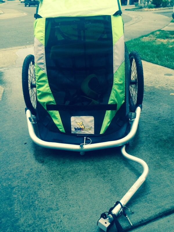 Kidarooz Child Carrier 2 In 1 Bicycle Trailer Stroller Bicycles